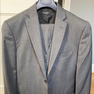Jos.A. Bank grey three-piece suit